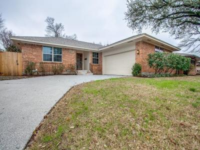 Dallas Single Family Home For Sale: 8042 Hunnicut Road