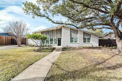 Dallas Single Family Home Active Option Contract: 3365 Jubilee Trail