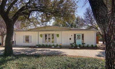Fort Worth Single Family Home For Sale: 6345 Darwood Avenue