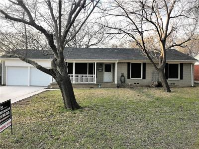 Richland Hills Single Family Home Active Contingent: 6937 Hardisty Street
