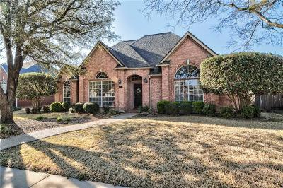 Coppell Single Family Home For Sale: 141 Hearthwood Drive