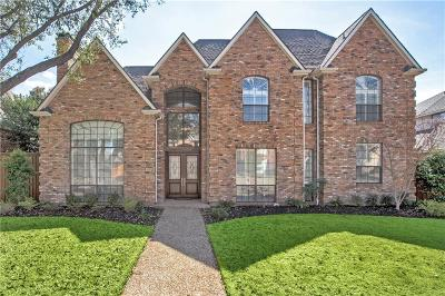 Plano Single Family Home Active Contingent: 5916 Loch Lomond Drive