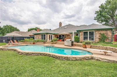 Plano TX Single Family Home Active Option Contract: $428,000