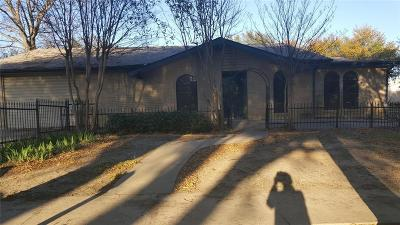 Mansfield Single Family Home Active Option Contract: 625 Hillcrest Street