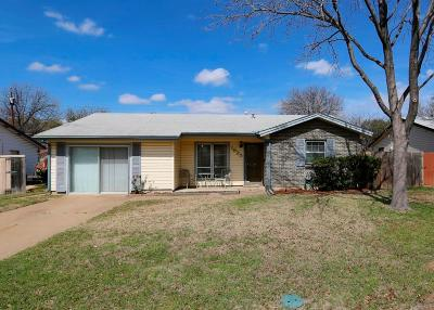 Irving Single Family Home Active Option Contract: 1825 Cunningham Street