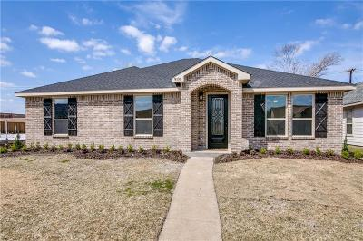 Rowlett Single Family Home Active Option Contract: 9101 Shipman Street