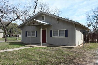 Erath County Single Family Home Active Option Contract: 1016 W Long Street