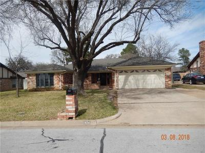 Hurst Single Family Home Active Option Contract: 524 Baker Drive