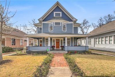 Fort Worth Single Family Home For Sale: 1808 Fairmount Avenue