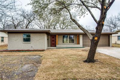 Farmers Branch Single Family Home Active Option Contract: 13903 Pyramid Drive