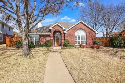 Plano TX Single Family Home Active Option Contract: $289,990