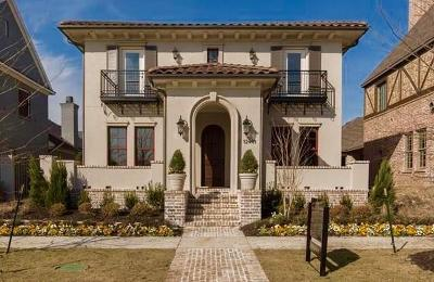 Frisco Single Family Home Active Contingent: 12441 Shoal Forest Lane