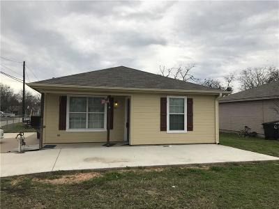 Cleburne Single Family Home For Sale: 201 Eastland Street