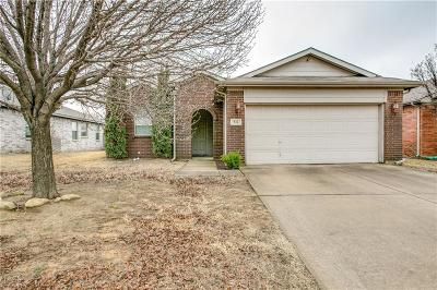 Fort Worth Single Family Home Active Option Contract: 932 Buffalo Springs Drive