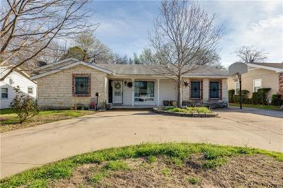 Irving Single Family Home For Sale: 1914 Finley Road