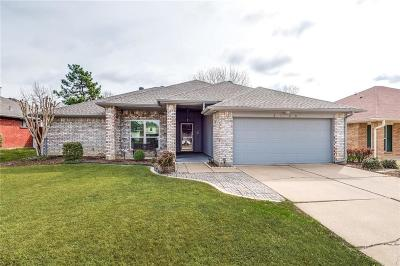 Flower Mound Single Family Home Active Option Contract: 2120 Bentley