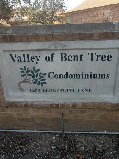 Valley Of Bent Tree Condo, Valley Of Bent Tree Condos Residential Lease For Lease: 16301 Ledgemont Lane #179B