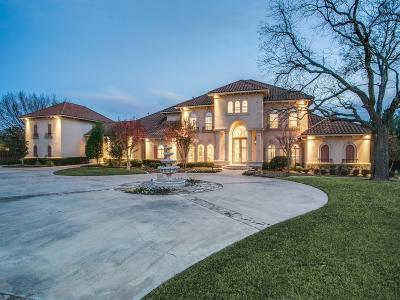 Southlake TX Single Family Home For Sale: $2,700,000