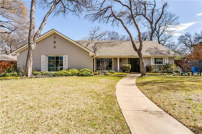 Fort Worth Single Family Home For Sale: 3109 Chaparral Lane