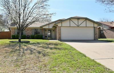 Burleson Single Family Home Active Option Contract: 445 Berkshire Drive