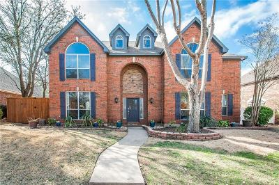 Plano TX Single Family Home Active Option Contract: $399,900