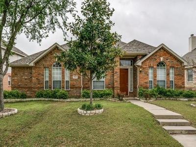 Plano TX Single Family Home Active Option Contract: $365,000