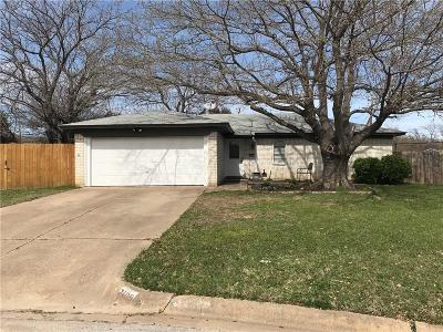 North Richland Hills Single Family Home For Sale: 7409 Janetta Drive