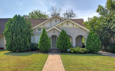 Fort Worth Single Family Home Active Option Contract: 3325 Park Ridge Boulevard