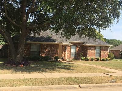 Plano Single Family Home Active Option Contract: 3120 Osceola Drive