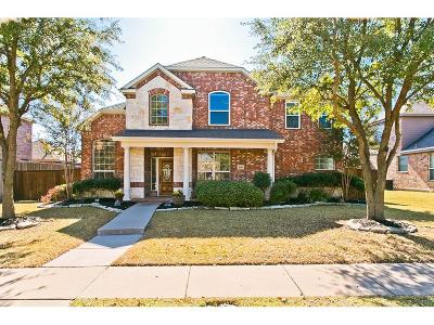 Allen Single Family Home Active Option Contract: 1610 Bryce Canyon Lane