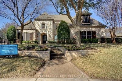 Colleyville Single Family Home For Sale: 7200 Balmoral Drive
