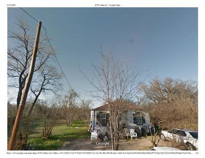 Dallas Single Family Home For Sale: 4739 Stokes Street