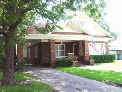 Sherman Single Family Home Active Option Contract: 502 W Belden Street