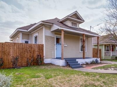 Dallas TX Single Family Home Active Contingent: $265,000