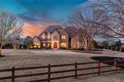 Colleyville Single Family Home For Sale: 6208 Ld Lockett Road