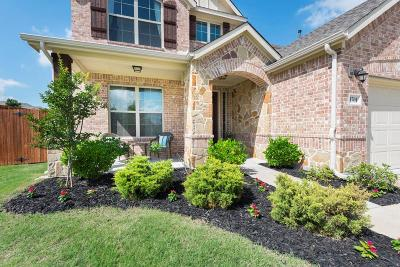 McKinney Single Family Home For Sale: 3701 Madrone Way