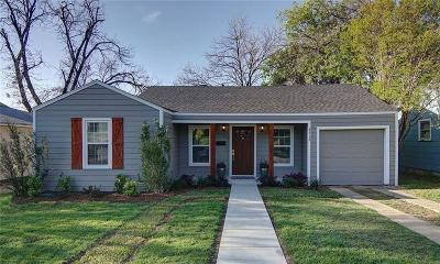 Fort Worth Single Family Home For Sale: 3713 Collinwood Avenue