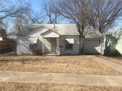 Fort Worth Single Family Home For Sale: 3265 Hale Avenue