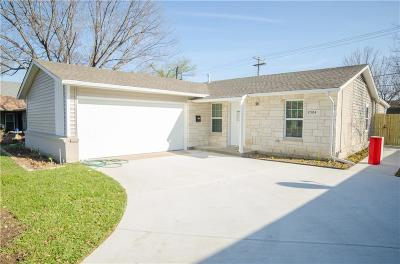 Irving Single Family Home For Sale: 2504 Syracuse Drive