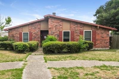 Rowlett Single Family Home For Sale: 9114 Fairmont Circle