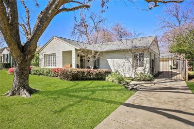 Single Family Home For Sale: 6227 Kenwood Avenue