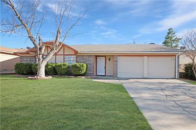 Haltom City Single Family Home Active Option Contract: 5632 Macaskill Drive