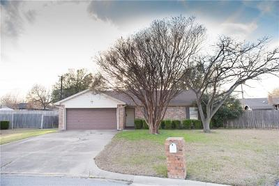 North Richland Hills Single Family Home Active Option Contract: 7313 Windhaven Road
