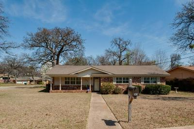 Hurst Single Family Home Active Option Contract: 908 Trailwood Drive