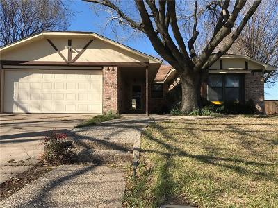 Fort Worth Single Family Home For Sale: 9904 Farmers Branch Street