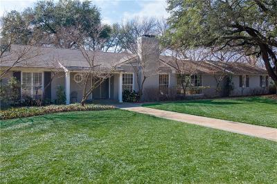 Dallas Single Family Home For Sale: 5514 Palomar