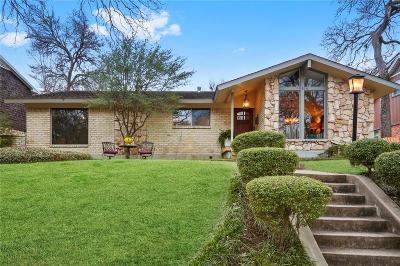Dallas Single Family Home For Sale: 10614 Creekmere Drive