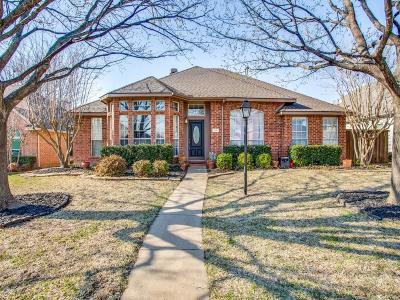 Allen Single Family Home Active Option Contract: 1005 Rockefeller Lane