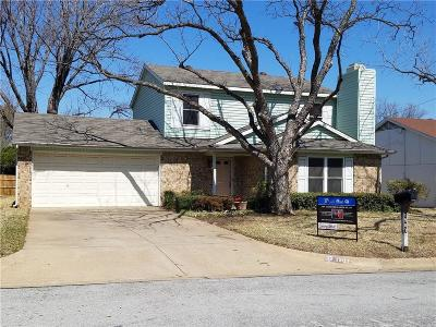 Arlington Single Family Home For Sale: 1907 Coldwater Lane