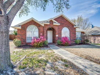 Rockwall Single Family Home Active Option Contract: 947 Dogwood Lane